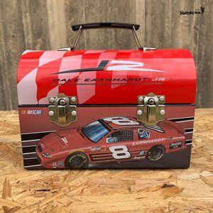 Vintage Nascar Dale Earnhardt JR. Tin Lunchbox